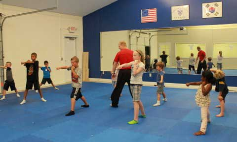 We Offer Karate Classes in the After School Program