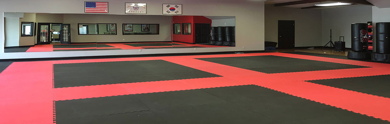 New Mats at Our New Training Facility!