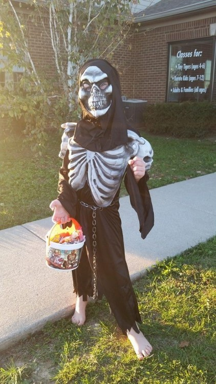 Skeleton - Trunk or Treat 2015